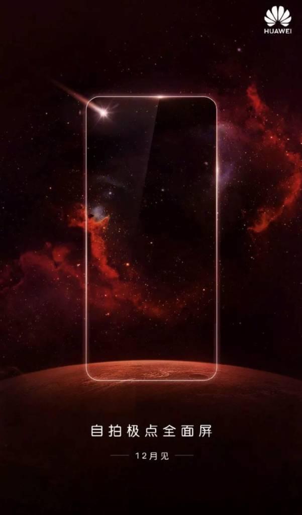 Huawei design senza notch
