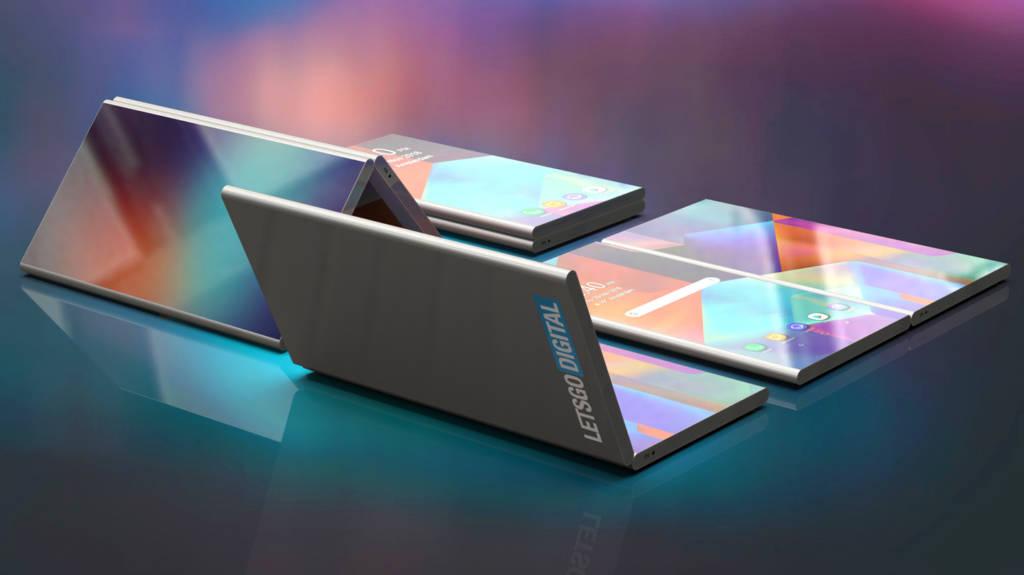Render Samsung pieghevole