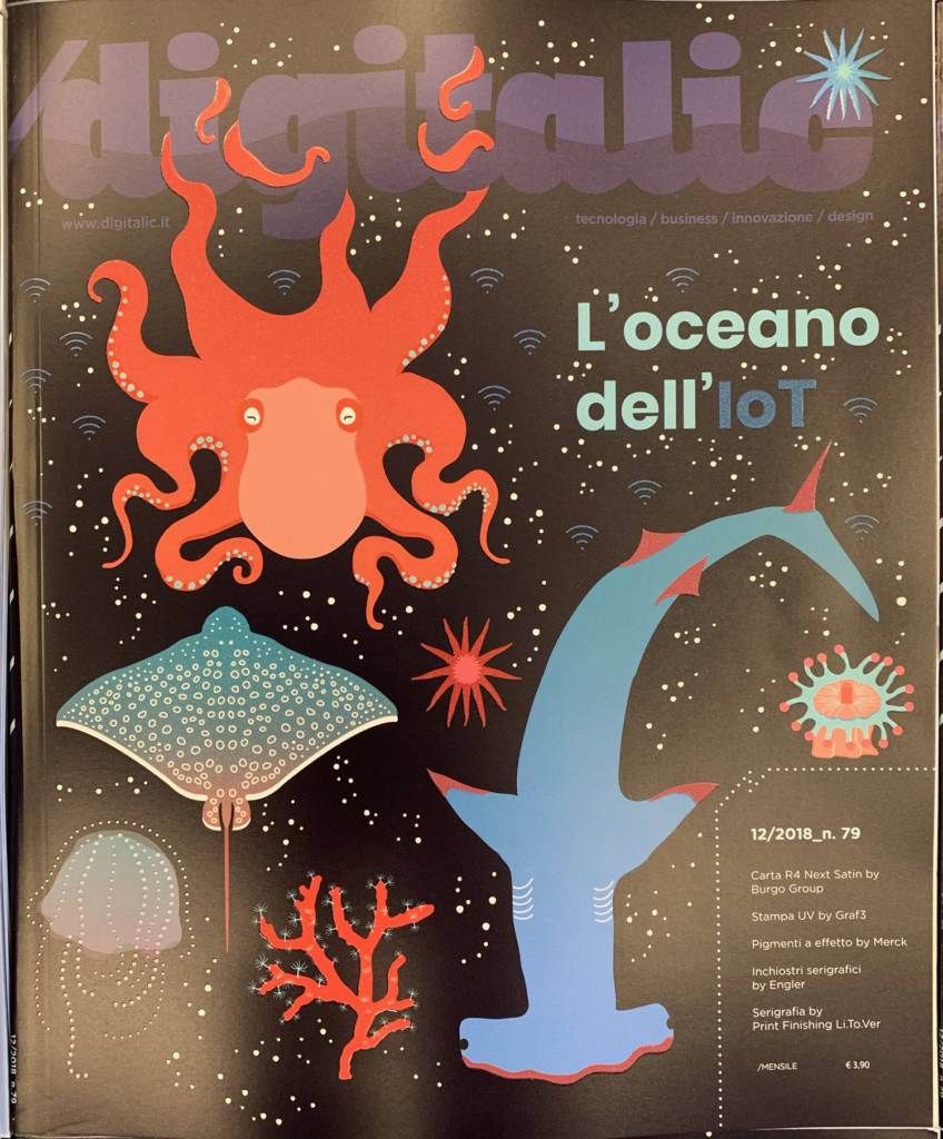 Digitalic n. 79 l'Oceano dell'IoT