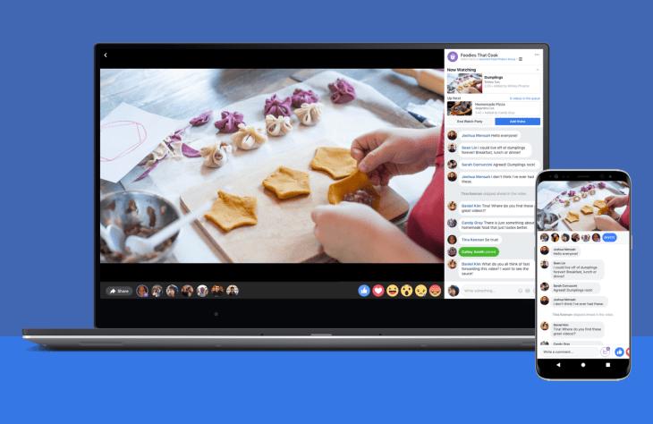 facebook messenger watch party