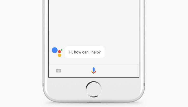 google assistant su iphone voce