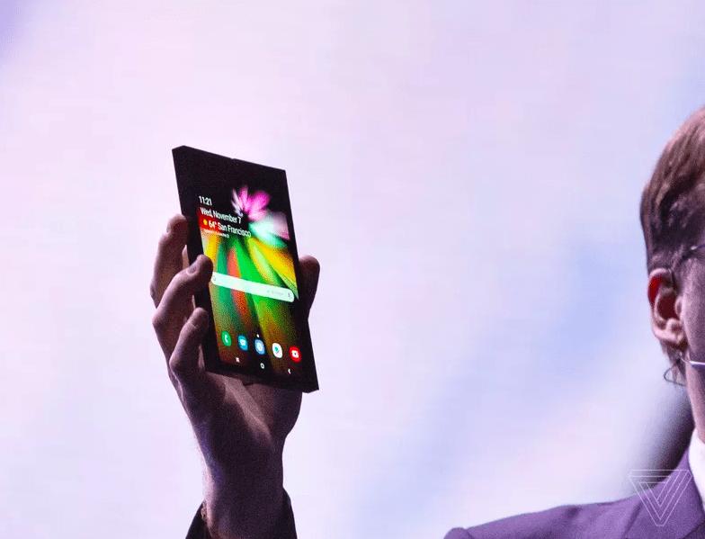 smartphone samsung pieghevole