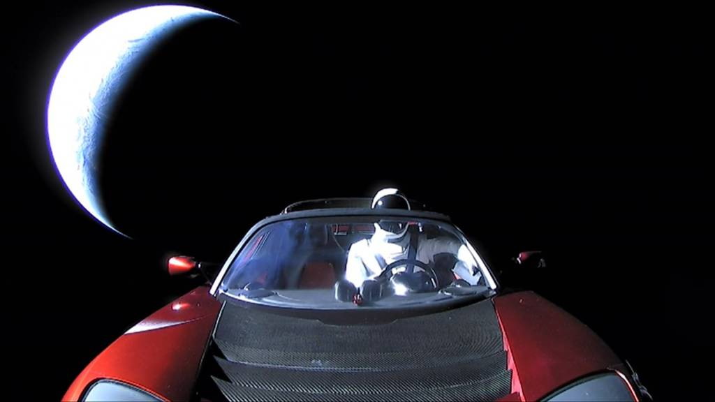 Dov'è la Tesla Roadster lanciata nello spazio con Starman? Oltre Marte
