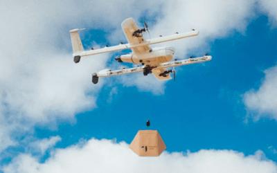Alphabet Wing testa in Finlandia la consegna con drone in 10 minuti
