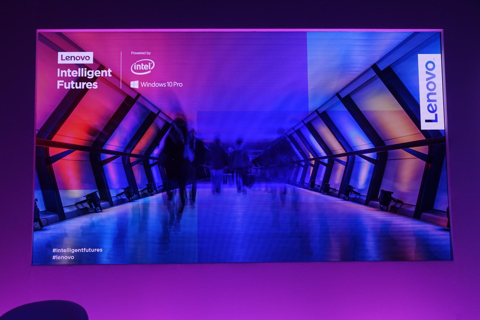Lenovo Intelligent Futures, l'evento sul futuro intelligente del lavoro