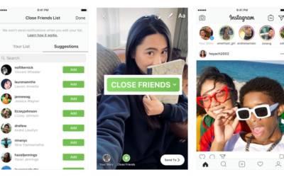Su Instagram arrivano Storie per gli Amici più Stretti