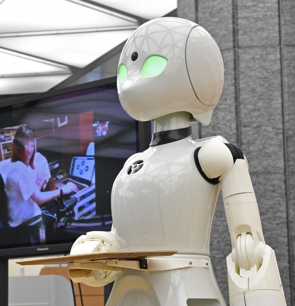 Robot Lavoro disabili OriHime