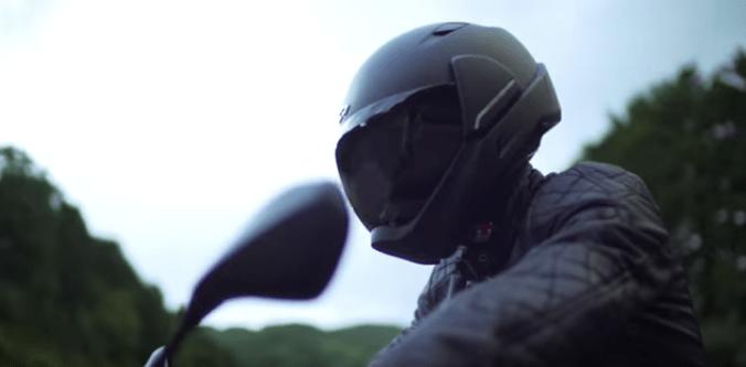 casco intelligente CrossHelmet