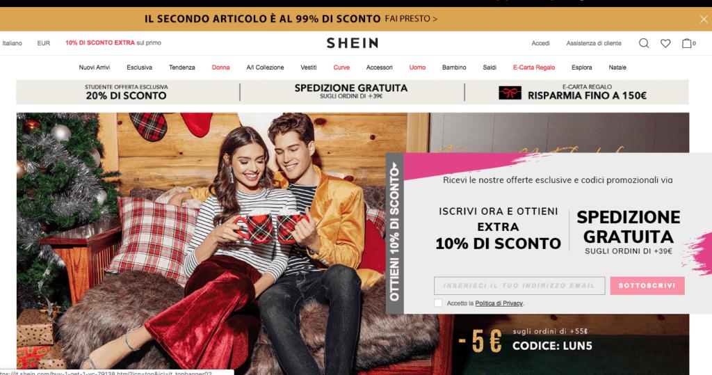 shein.com Violazioni dati 2018 data breach