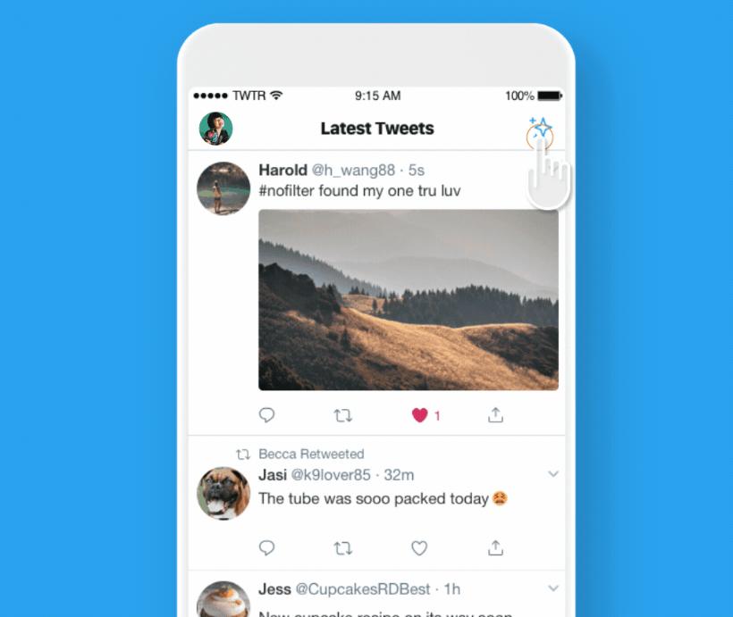 tweet in ordine cronologico