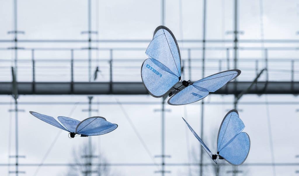 emotionbutterflies droni farfalla festo