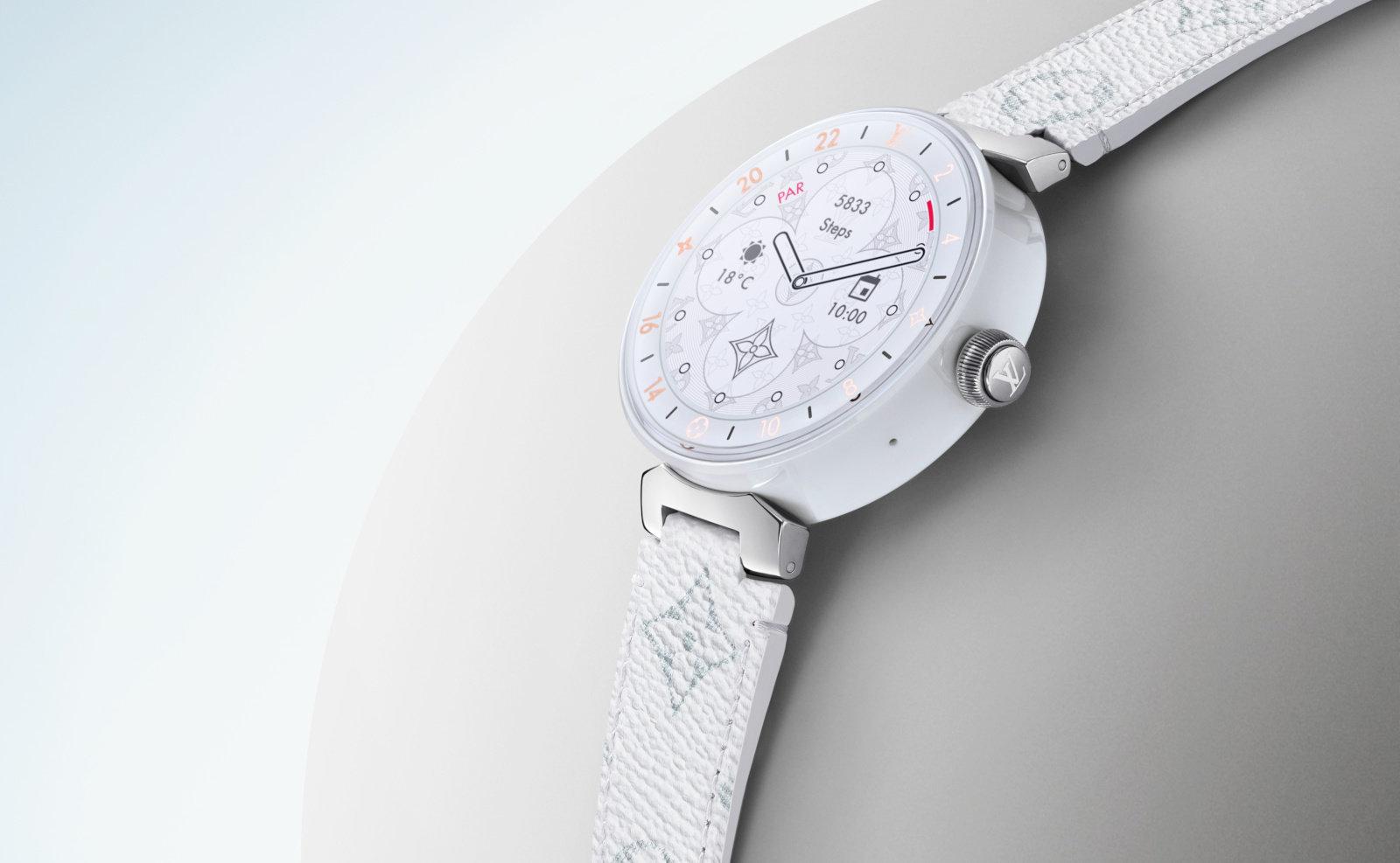 Nuovo Louis Vuitton Tambour 2019, lo smartwatch di lusso
