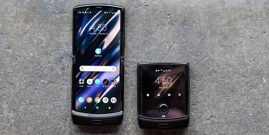 Motorola Razr display