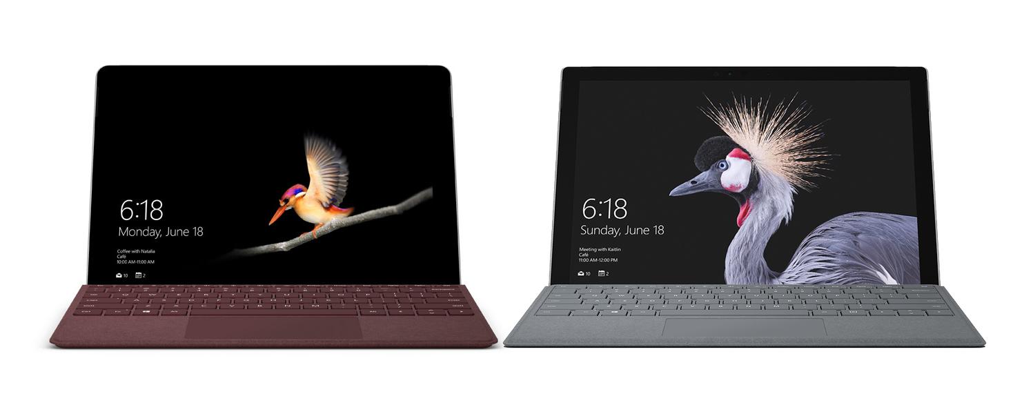 Surface Go VS Surface Pro: il confronto