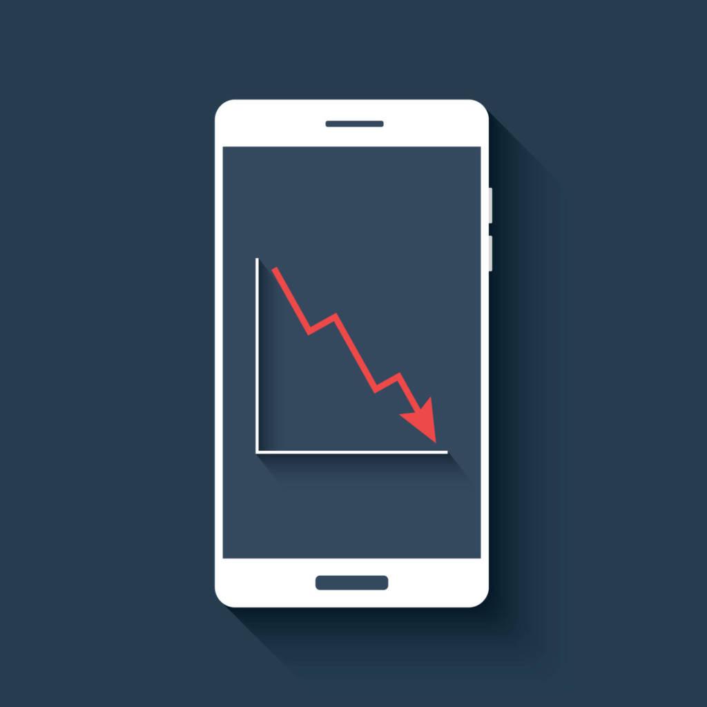smartphone-vendite-in-calo