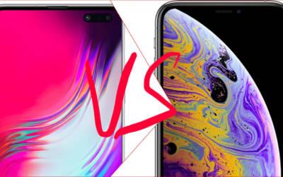Samsung Galaxy S10 vs iPhone XS: il confronto