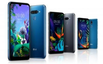 LG annuncia gli smartphone Q60, K50 e K40