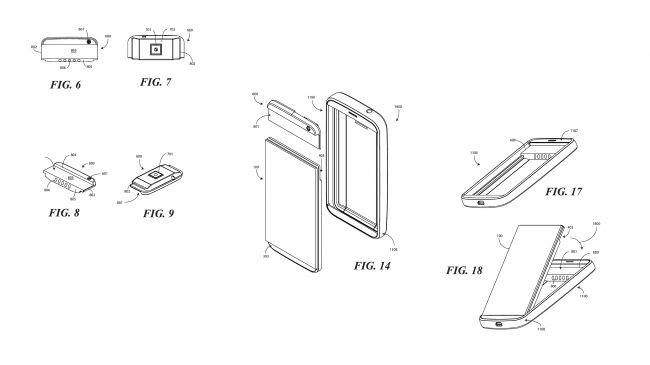 Nuovo brevetto smartphone modulare