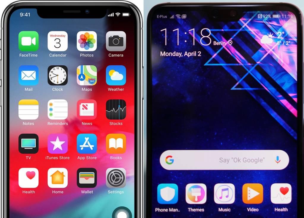 Passare da iOS a Android Differenze