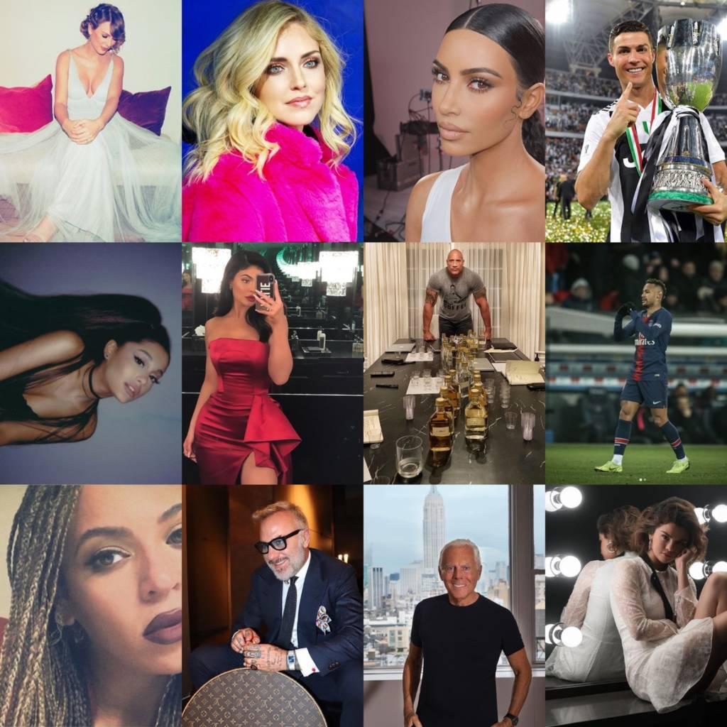 profili Instagram più seguiti nel 2019