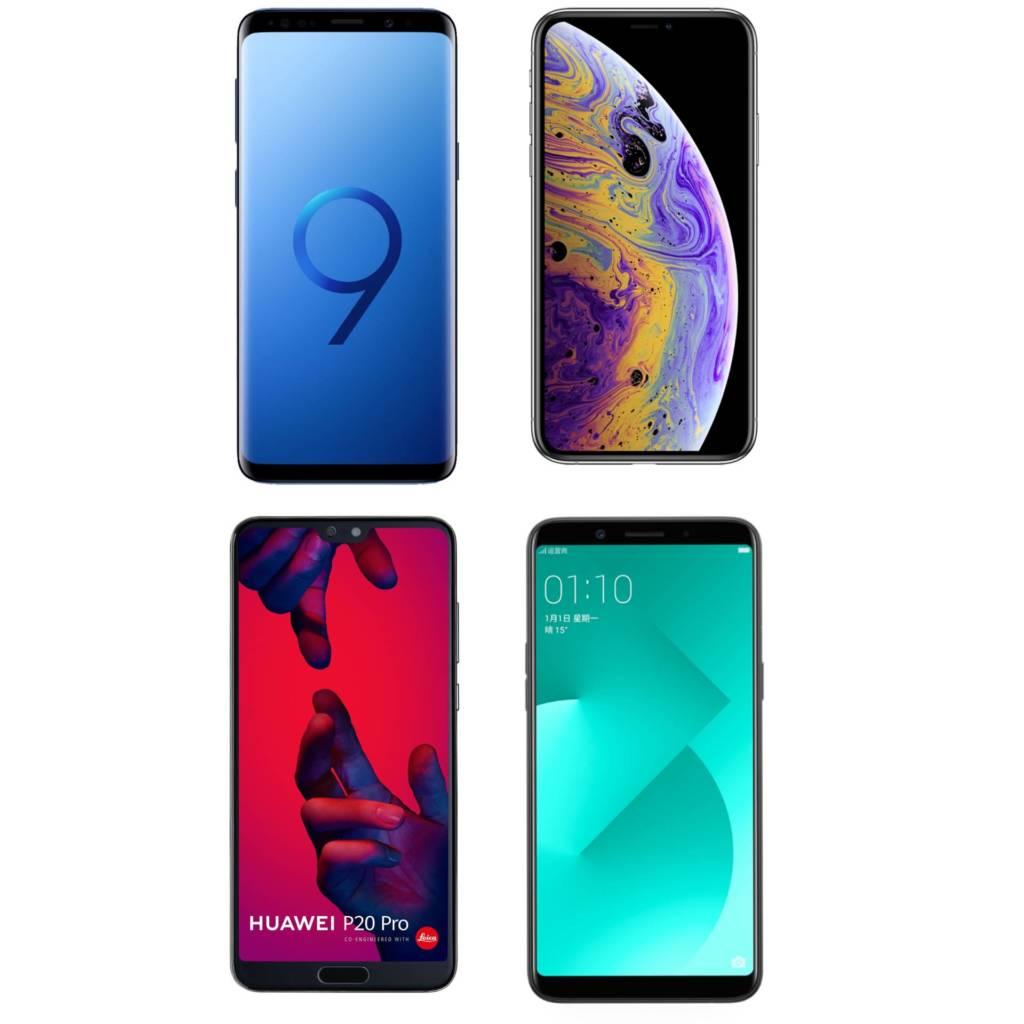 Quote Mercato smartphone 2018