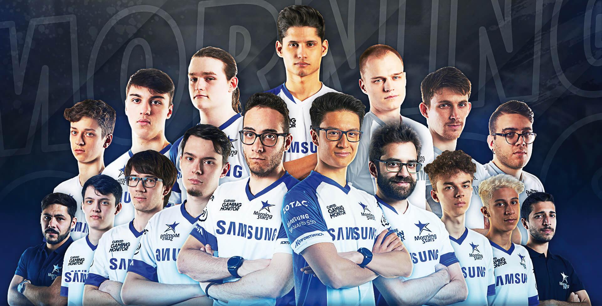 La squadra Samsung Morning Stars