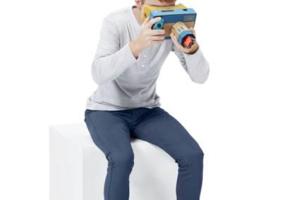 Realtà virtuale con Nintendo Labo VR Kit