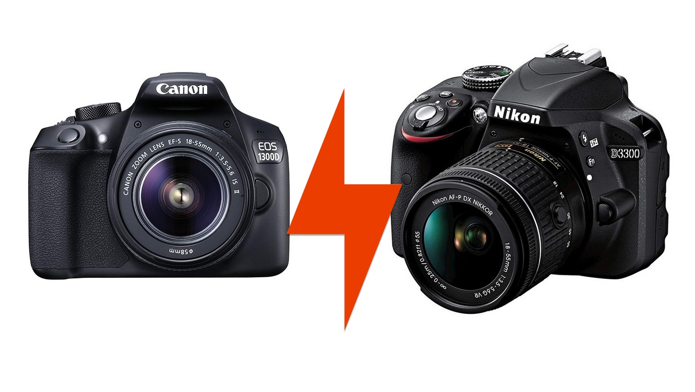 Canon 1300D vs Nikon D3300: confronto tra reflex entry level