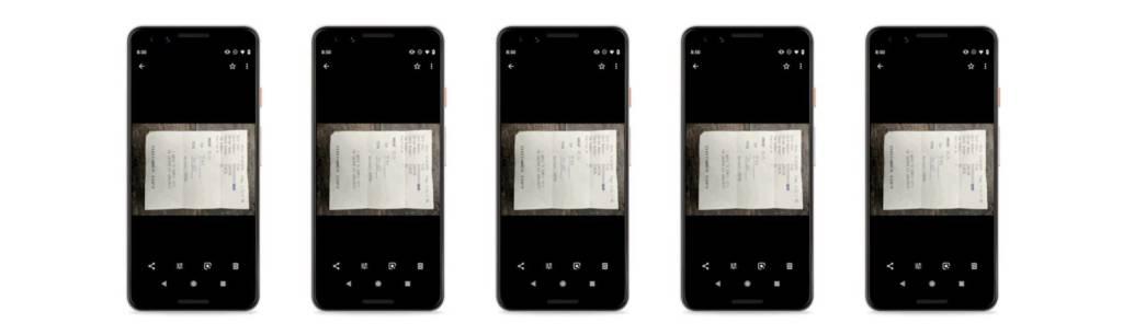 Google Foto ottimizza gli scatti di documenti e fatture