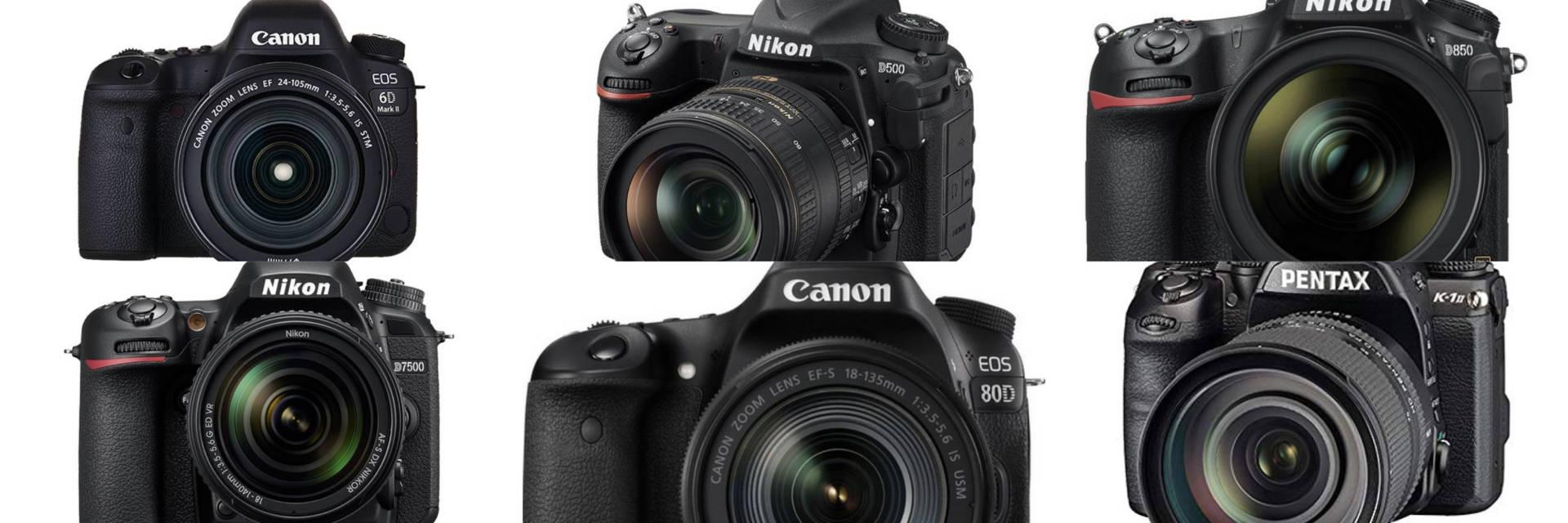 Migliori reflex: la classifica delle fotocamere professionali più potenti