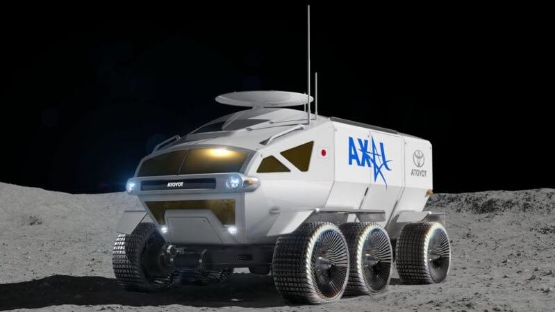 rover lunare toyota