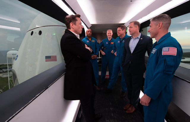 SpaceX Crew Dragon Elon Musk