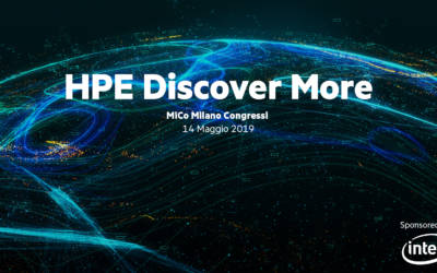 HPE Discover More: l'evento sulla Data Driven Society
