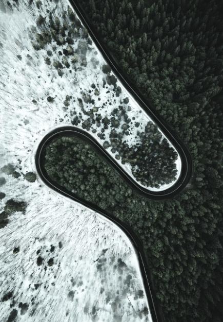 Strada dell'Infinito Estate vs Inverno
