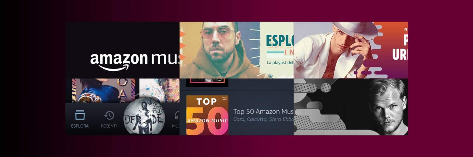 Amazon come Spotify: musica gratis per tutti