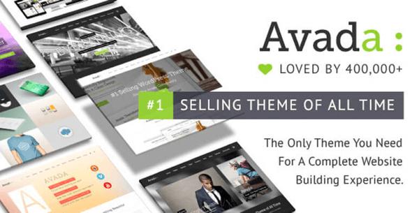 Migliori Temi WordPress: Avada