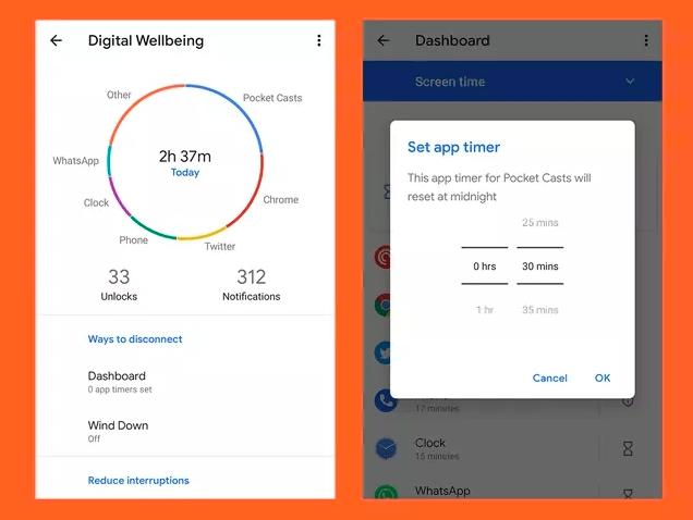 digitalwellbeingAndroid