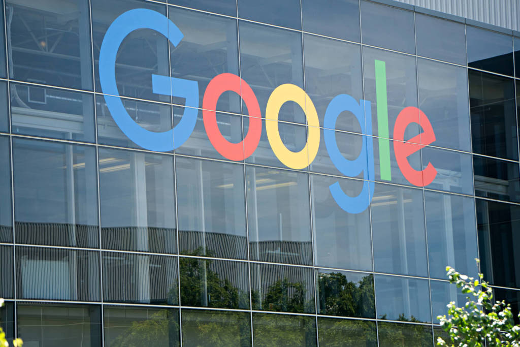 scende il valore delle azioni della società Google
