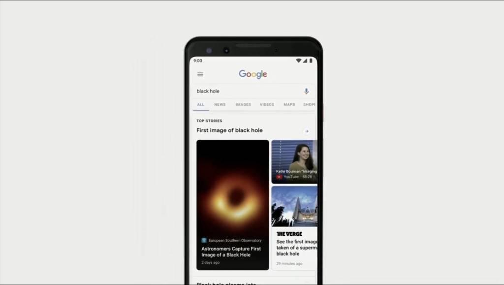 Google Search cambia: realtà aumentata e nuovi risultati approfonditi