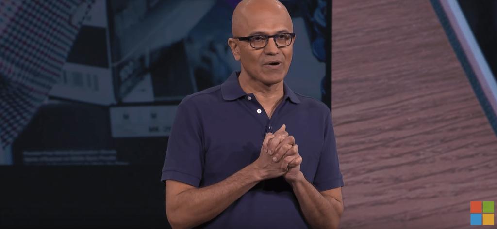 Microsoft Build 2019 Nadella