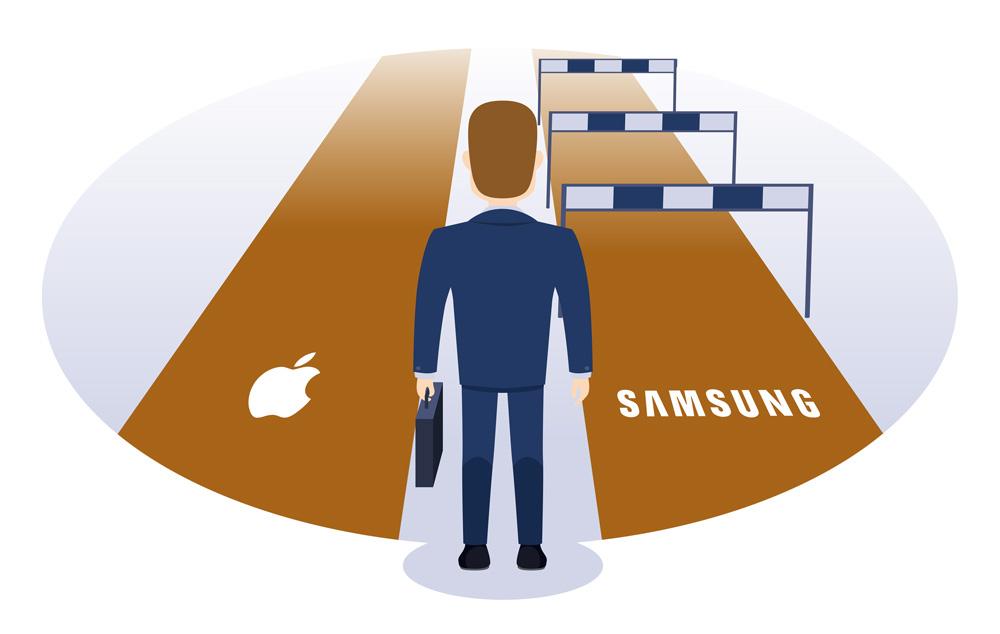 la vera differenza tra Apple e Samsung