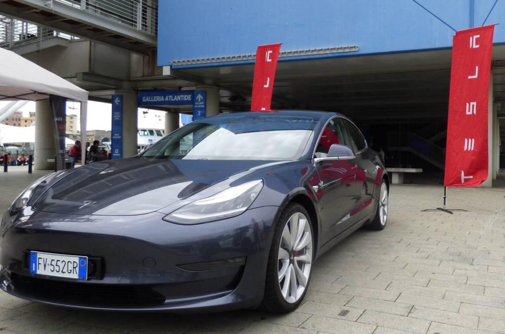 Tesla Model 3 test drive