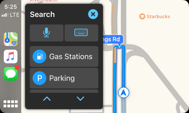 Nuove Mappe in Apple CarPlay