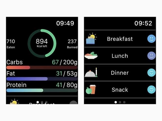 Migliori App fitness per Apple Watch: lifesum