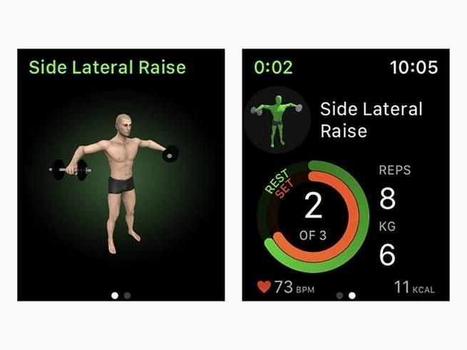 app per il fitness: gymaholic