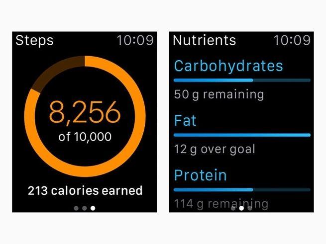 app per il fitness: myfitnesspal
