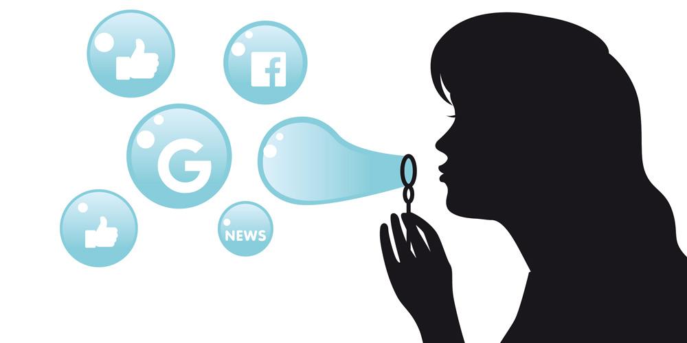 Sui social vediamo solo quello che ci fanno vedere: la bolla dell'ego