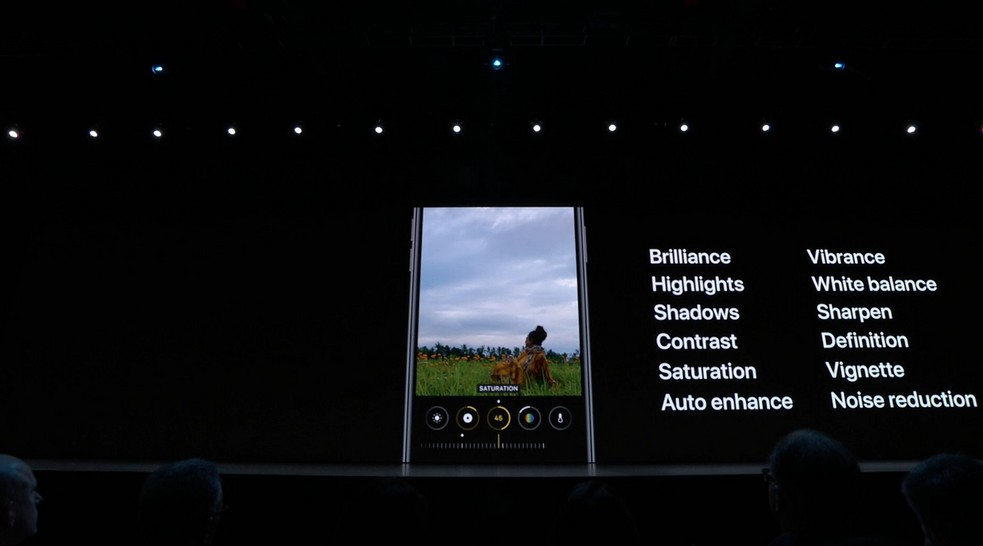 Novità app Fotocamera iOS 13
