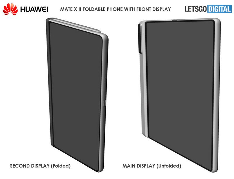 Render Huawei Mate X 2