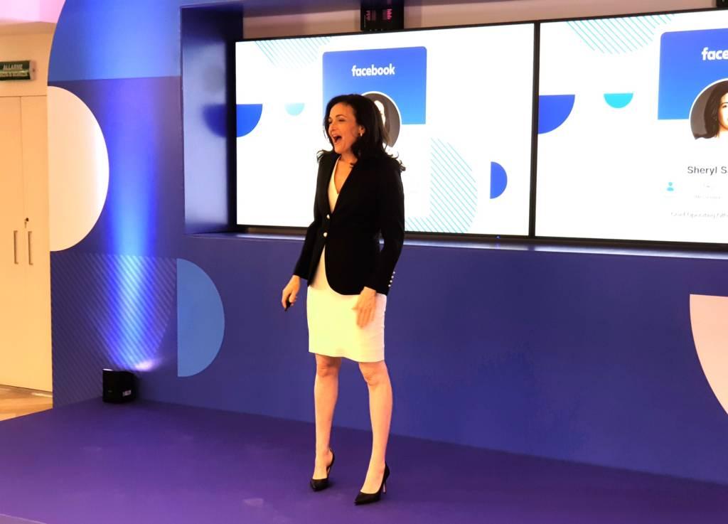 Sheryl Sandberg a Roma - Binario F